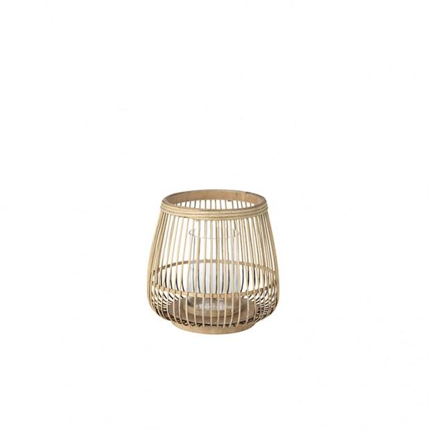 """Broste Copenhagen Windlicht """"Cait"""" Bamboe windlicht Cait"""