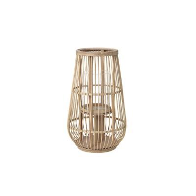"""Windlicht """"Cait"""" Bamboe Hoog"""
