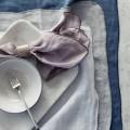 "Broste Copenhagen Servetten Eco Linnen ""Gracie"" Pure White 70100224"
