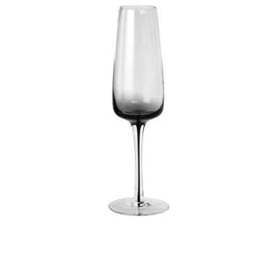 Broste Copenhagen Champagneglas Smoke Glass