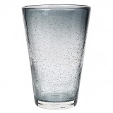"""Broste Copenhagen Longdrinkglas """"Bubble"""" Grijs"""