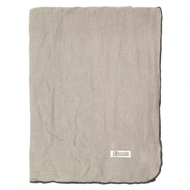 "Broste Tafelkleed Linnen Eco ""Gracie"" Taupe 70100016"