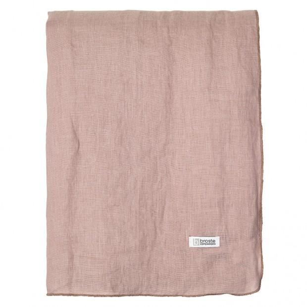 "Broste Tafelkleed Eco Linnen ""Gracie"" Fawn 71112029"
