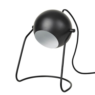Bureaulamp Zwart Turn