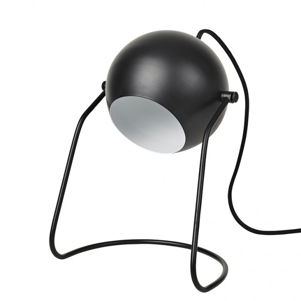 Bureaulamp Zwart Turn  14461420