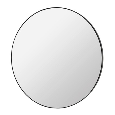 Grote ronde spiegel complete zwart spiegels online kopen for Grote muur spiegel