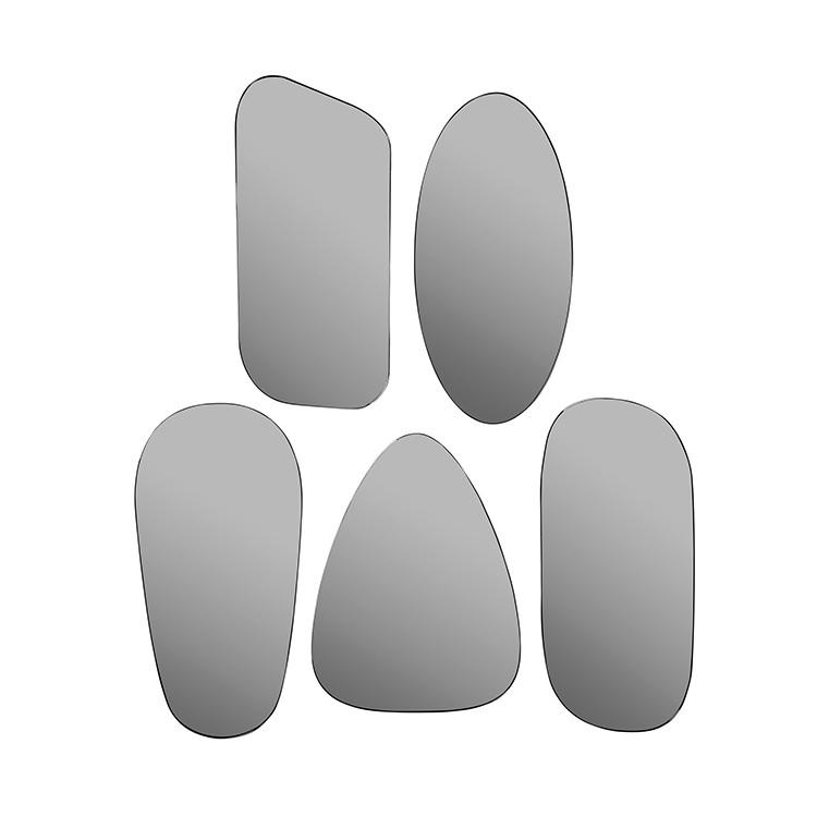 Spiegels zonder lijst art grijs for Spiegels zonder lijst