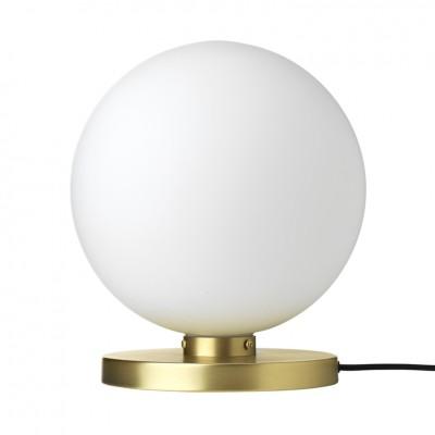 "Tafellamp Bol ""Caspa"" Messing"