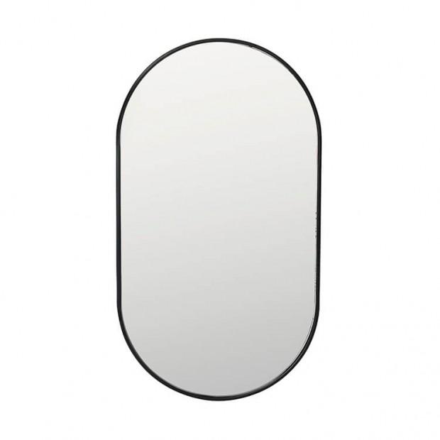 """Ovale Spiegel Zwarte Rand """"Pelle""""  14478033"""