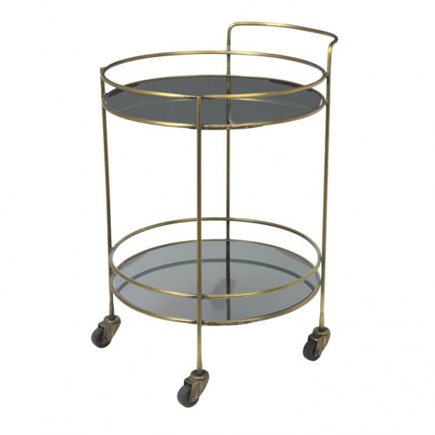 "Ronde Messing Trolley ""Roger"" 71177467"