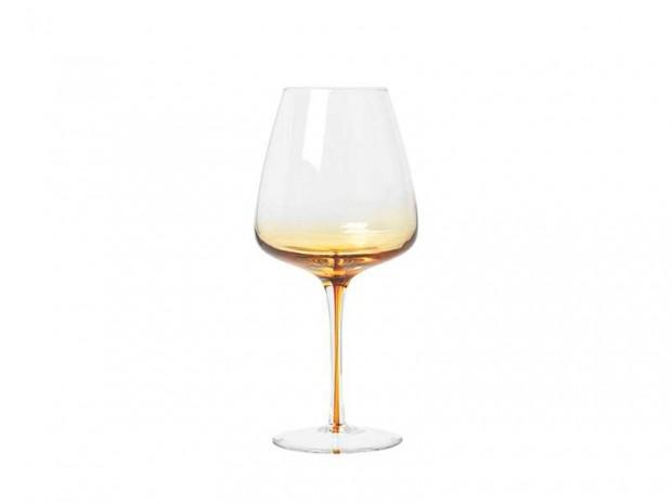 Rode Wijnglazen Amber Glas 14460633