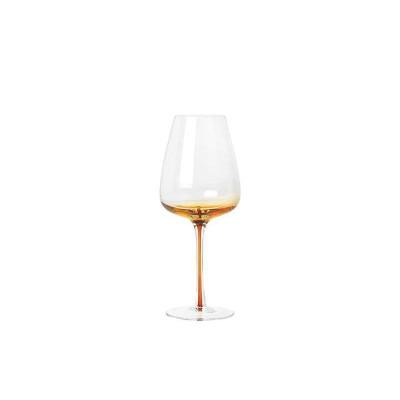 Witte Wijnglazen Amber Glas