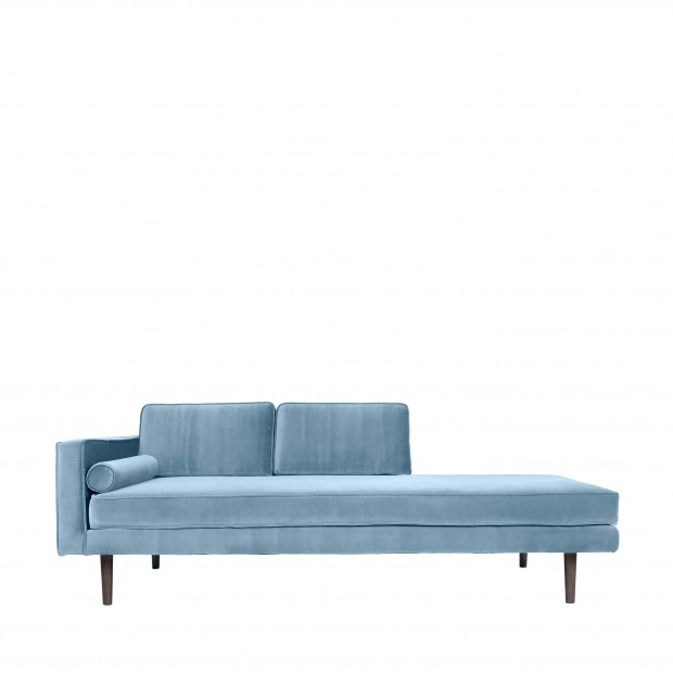 "Chaise Longue Bank ""Wind"" Pastel Blue 31000091"
