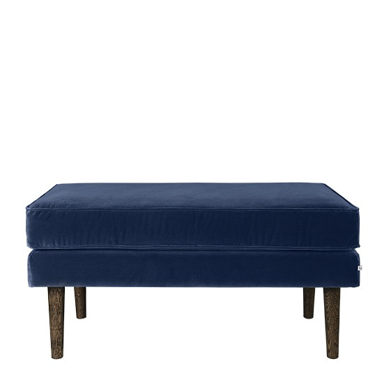 "Hocker Stof ""Wind"" Insignia Blue 31000065"