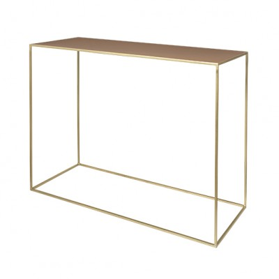 "Sidetable Metaal ""Freja"" Messing Indian Tan"