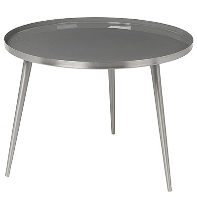 "Ronde Salontafel ""Jelva"" Rockridge Grijs"