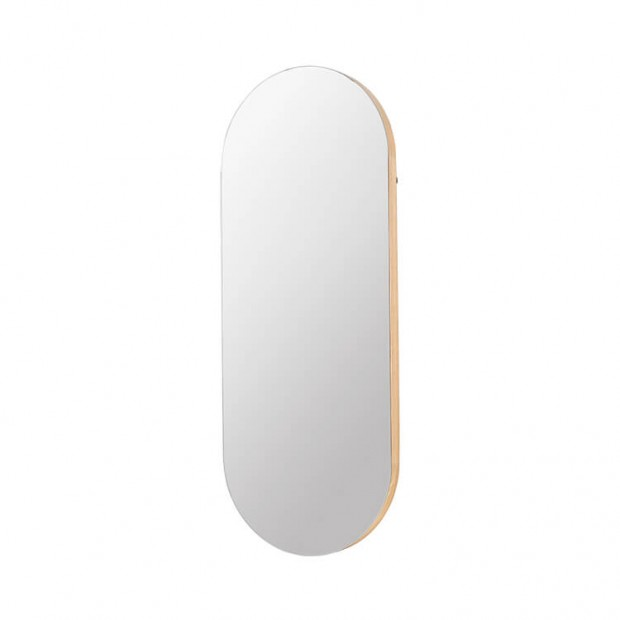 "Ovale Spiegel Eikenhout ""Alva""  14576003 PRE-ORDER"