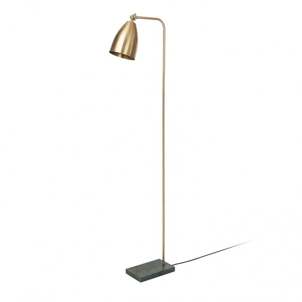 "Vloerlamp Messing ""Mynte""  70010027"