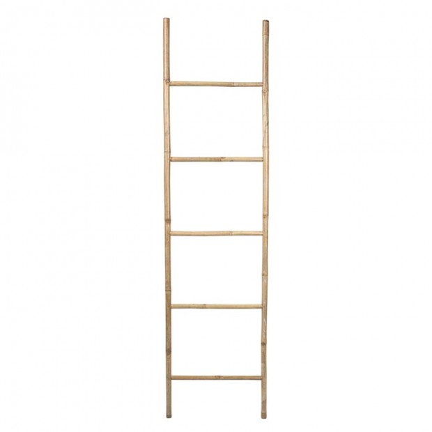 "Broste Copenhagen Decoratie Ladder ""Relax"" Bamboe Naturel 14420197"