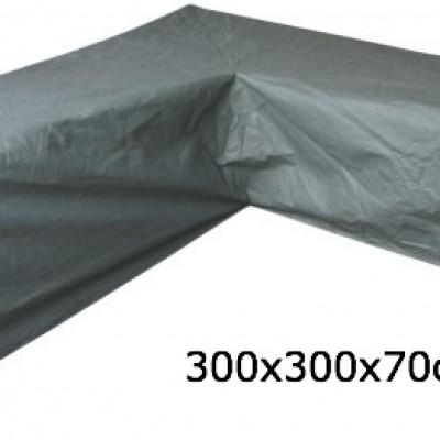 Eurotrail SFS Hoes Voor L-vormige loungeset 300 x 300 x 70 cm