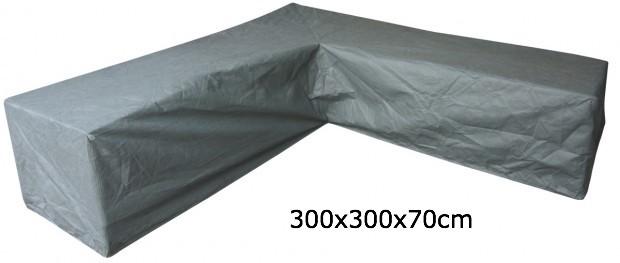 Eurotrail SFS Hoes Voor L-vormige loungeset 300 x 300 x 70 cm ETGF5181