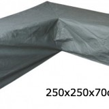 Eurotrail SFS Hoes Voor L-vormige loungeset 250 x 250 x 70 cm