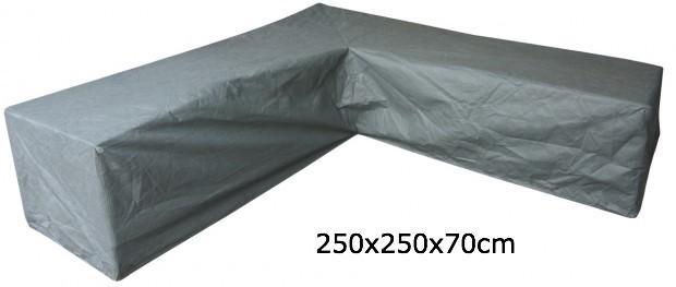 Eurotrail SFS Hoes Voor L-vormige loungeset 250 x 250 x 70 cm ETGF5191