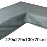 Eurotrail SFS Hoes Voor L-vormige loungeset 270 x 270 x 100/70 CM
