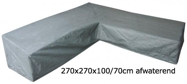 Eurotrail SFS Hoes Voor L-vormige loungeset 270 x 270 x 100/70 CM ETGF5211