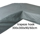Eurotrail SFS Hoes Voor Loungeset Met Trapeze Hoek 300 x 300 x 90/60 CM