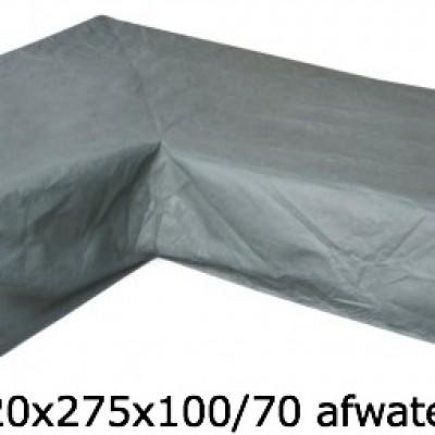Eurotrail SFS Hoes Voor L-vormige loungeset 220 x 275 x 100/70 CM