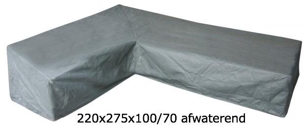 Eurotrail SFS Hoes Voor L-vormige loungeset 220 x 275 x 100/70 CM ETGF5246