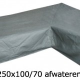 Eurotrail SFS Hoes Voor L-vormige loungeset 305 x 250 x 100/70 CM