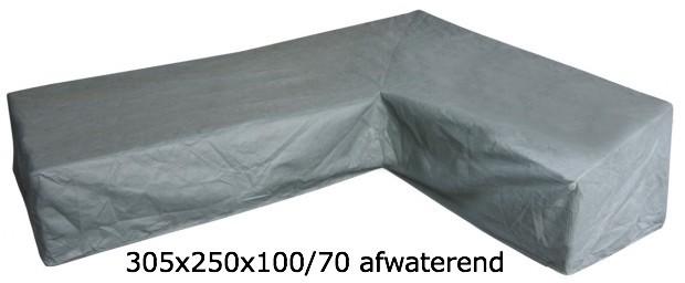 Eurotrail SFS Hoes Voor L-vormige loungeset 305 x 250 x 100/70 CM ETGF5251