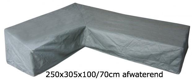 Eurotrail Hoes Voor L-vormige Loungeset 250 x 305 x 100/70 CM ETGF5256