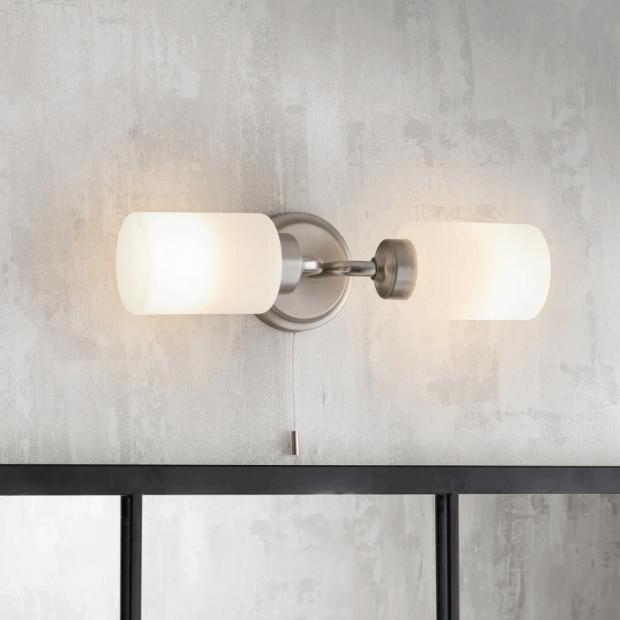 """Badkamerlamp Spiegel """"Waterloo""""  LAWA02"""