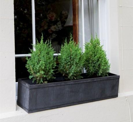 Zinken Plantenbak Rechthoekig 90 CM Vence