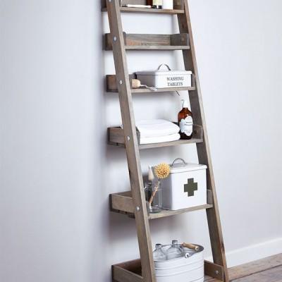 Houten Decoratie Ladder Buiten Aldsworth