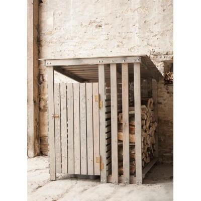 Opbergkisten oppottafels houten opbergmeubel voor buiten - Opslag terras ...