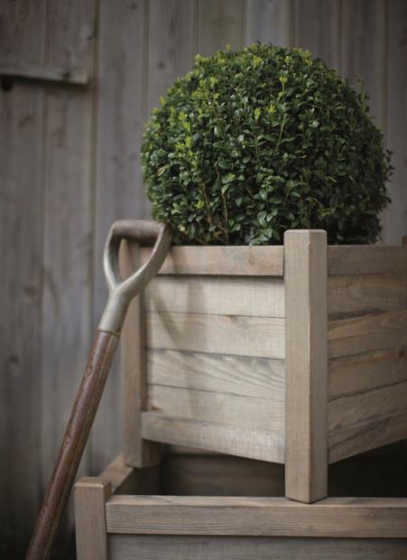 """Houten Plantenbak """"Spruce"""" Vierkant 40 CM PLAW01"""