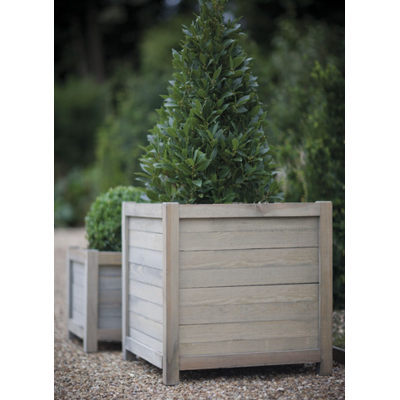 "Houten Plantenbak ""Spruce"" Vierkant 60 CM"