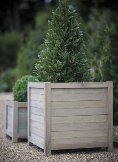 """Houten Plantenbak """"Spruce"""" Vierkant 60 CM PLAW02"""
