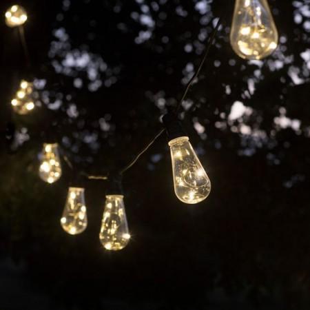 Led Feestverlichting Buiten Festoon 10 Retro Lampen