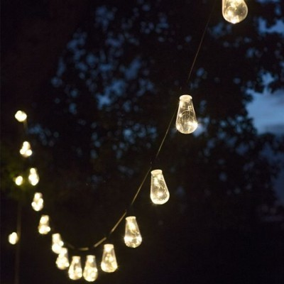 Led Feestverlichting Buiten Festoon 20 Retro Lampen