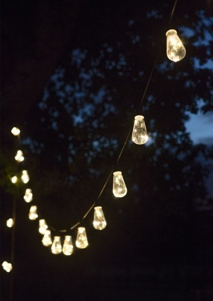 "Led Feestverlichting Buiten ""Festoon"" 20 Retro Lampen LAFE05"