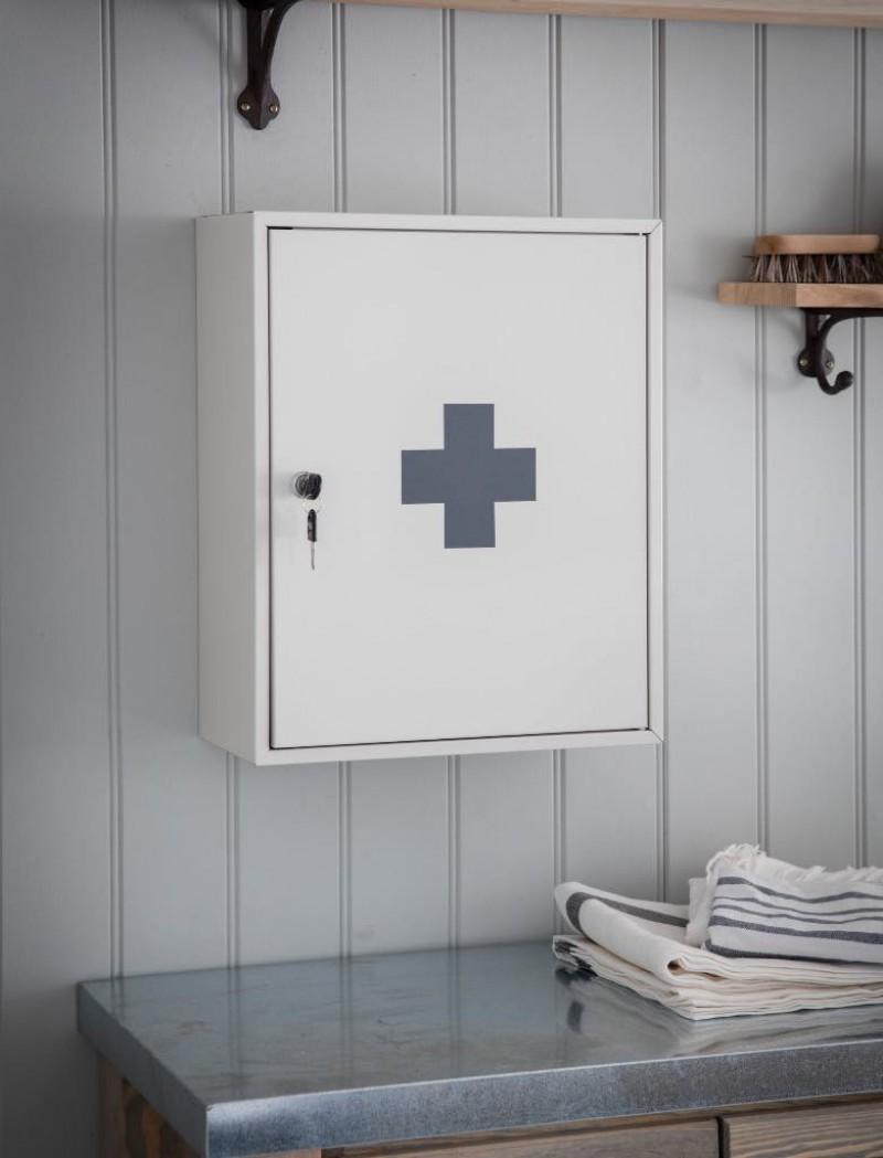 Medicijnkastje Metaal Met Slot Ehbo Kast Muur
