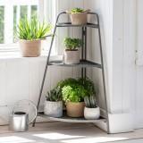Plantenrek Metaal Voor Binnen Antraciet Grijs