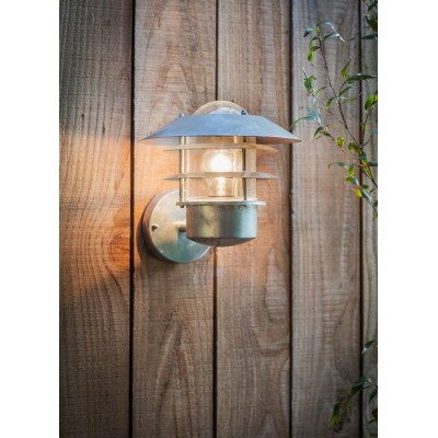 "Wandlamp ""St Ives Strand Light"" Gegalvaniseerd"