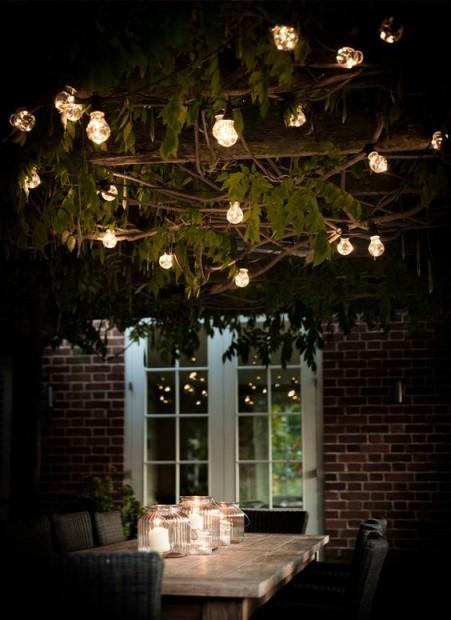 """Feestverlichting Buiten """"Festoon"""" 20 Lampen LAFE02"""