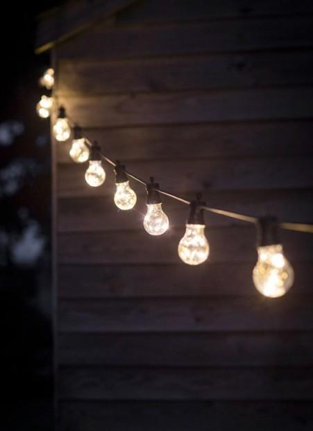 """Feestverlichting Buiten """"Festoon"""" 10 Lampen LAFE01"""